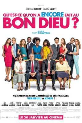 Qu'est-ce qu'on a (encore) fait au bon Dieu ? - Poster - Belgium