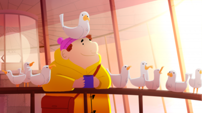 Lighthouse Keeper Love Birds Too Much