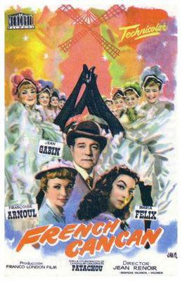 フレンチ・カンカン - Poster Espagne