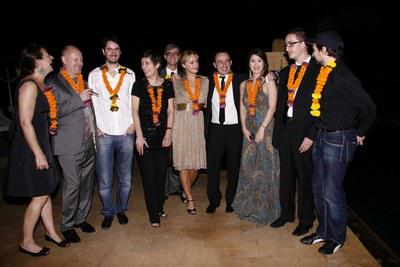 2nd French Film Meetings in India - Une partie de la délégation - © Unifrance.org