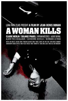 A Woman Kills - Poster anglais international