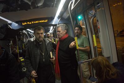 Un tramway à Jérusalem - © Olivier Fitoussi