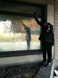 Black Oui Oui Got His Gun