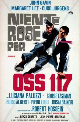 OSS 117 - Double Agent / OSS 117 Murder for Sale - Poster Italie