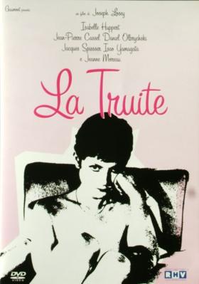 La Truite - Jaquette DVD Italie