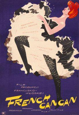 French Cancan - Poster Espagne (2)