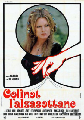 La Divertida historia de Colinot - Poster Italie