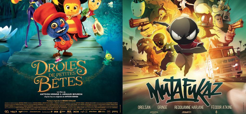 """""""Drôles de petites bêtes"""" et """"Mutafukaz"""" présélectionnés pour l'Oscar du meilleur film d'animation"""