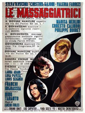 Le massaggiatrici - Poster - Italie