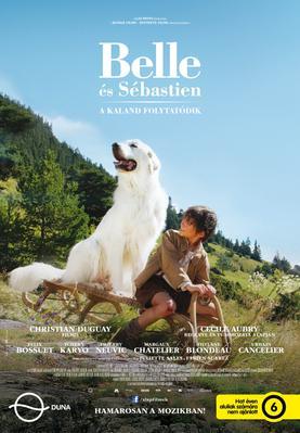 Belle et Sébastien, l'aventure continue - Poster - Hungary