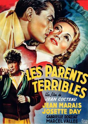 Les Parents terribles - Poster France