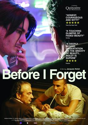 Before I Forget - Affiche UK