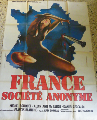 France, société anonyme - Poster - Italy