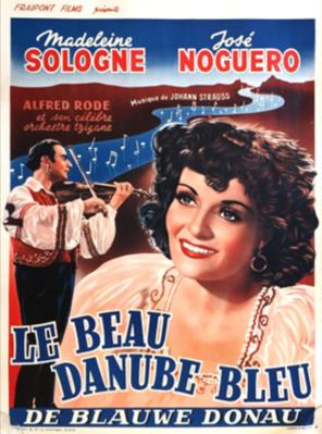 Le Danube bleu - Poster - Belgium