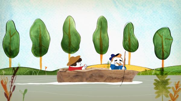 Dans un petit bateau 2015 unifrance films for Dans un petit bateau