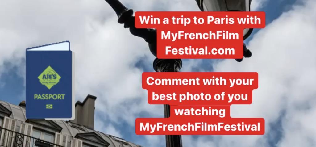 Gagnez un voyage pour 2 à Paris grâce à MyFrenchFilmFestival !