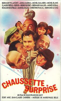 Chaussette surprise - Jaquette VHS France