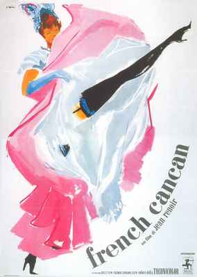 French Cancan - Poster Italie