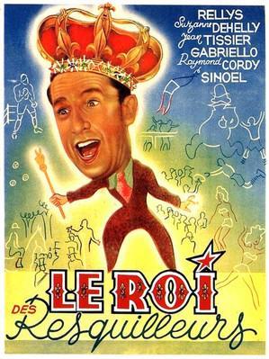 Le Roi des resquilleurs - Poster Belgique
