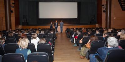 Highlights of the Tu Cita con el Cine Francés event in Madrid - Rudi Rosenberg présente Le Nouveau à l'Institut Français