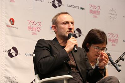 Balance del 24º Festival de Cine Francés del Japón - Guillaume Nicloux