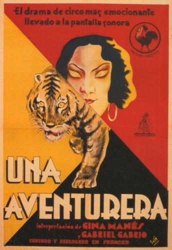 Una aventurera - Poster Espagne