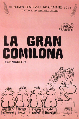 La Gran comilona - Poster Espagne