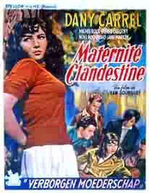 Maternité clandestine - Poster Belgique