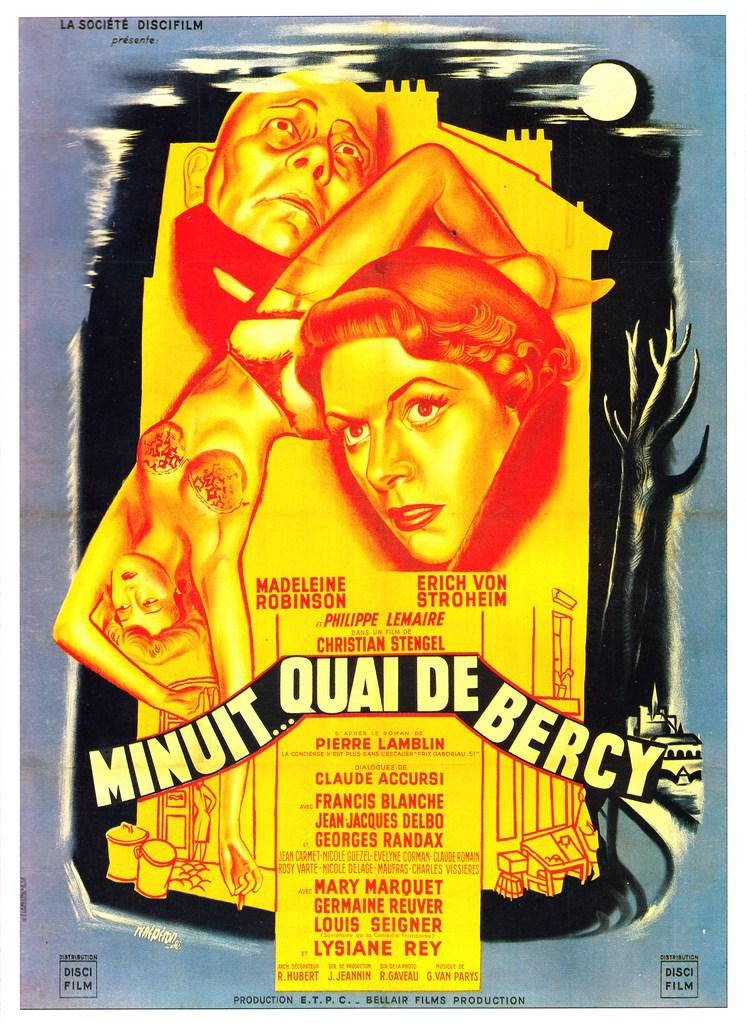 Minuit... quai de Bercy