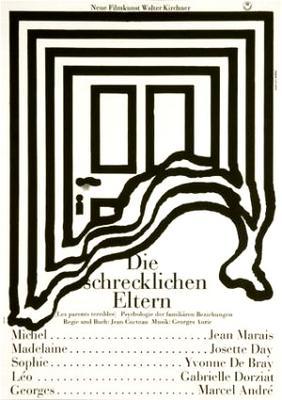 恐るべき親達 - Poster Allemagne