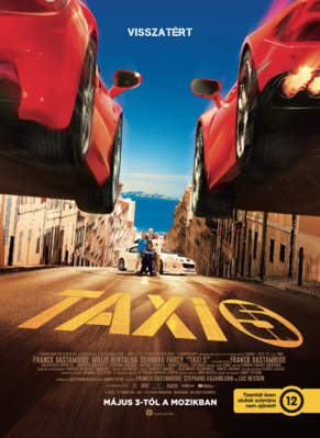 Taxi 5 - Poster - Hungary