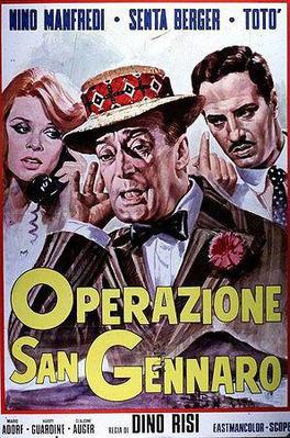The Treasure of San Gennaro - Poster Italie