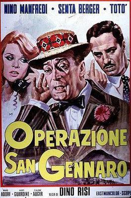 The Treasure of San Gennaro - Poster Italie