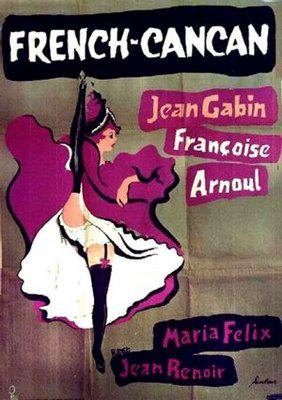 French Cancan - Poster Suède