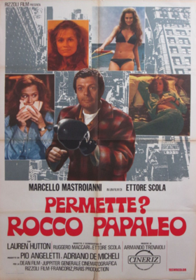 My Name Is Rocco Papaleo - Poster Italie