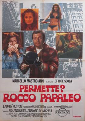 Un italiano en Chicago (¿Me permite? Rocco Papaleo) - Poster Italie