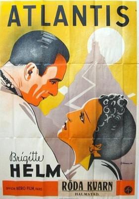 L'Atlantide - Poster Suède
