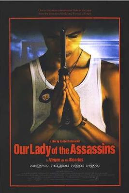 La Vierge des tueurs - Poster Etats-Unis