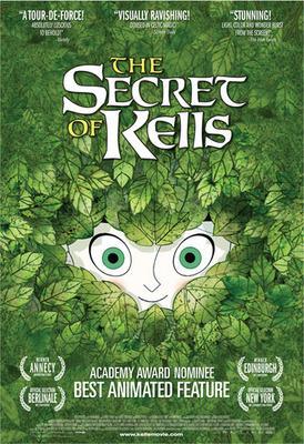 Brendan et le secret de Kells - Poster - USA - © Gkids