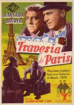 パリ横断 - Poster Espagne