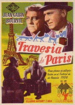 The Trip Across Paris - Poster Espagne