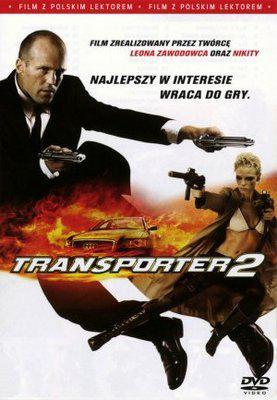 Le Transporteur 2 - Poster DVD Pologne
