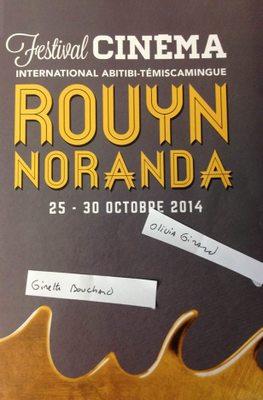 Festival de Cine Internacional en Abitibi-Temiscamingue (Rouyn-Noranda) - 2014