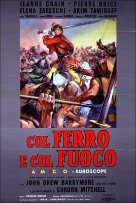 Par le fer et par le feu - Poster - Italy