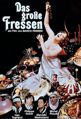 La Grande Bouffe - Poster Allemagne