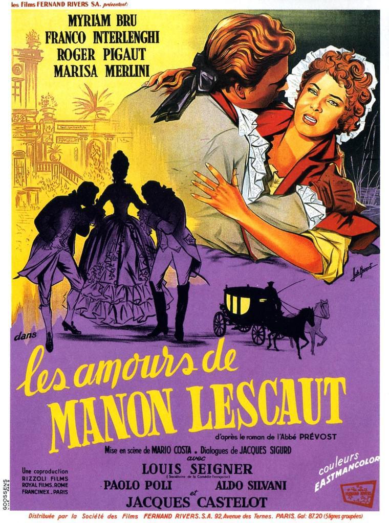 Les Amours de Manon Lescaut
