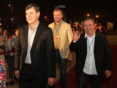 Retour sur le premier Festival International du Film du Vietnam - Les trois réalisateurs français sur le tapis rouge