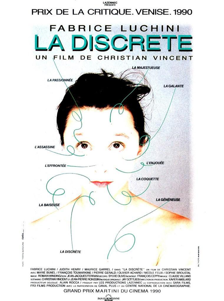 La Discreta - Poster France