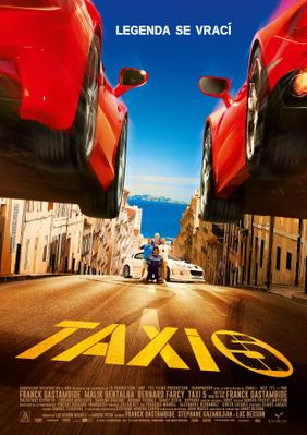Taxi 5 - Poster - Czech Republic