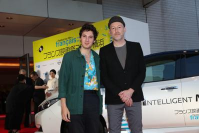 June 20: Opening of the 27th French Film Festival in Japan - Vincent Lacoste et Mikhaël Hers - © Laurent Campus